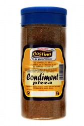 Condiment pizza